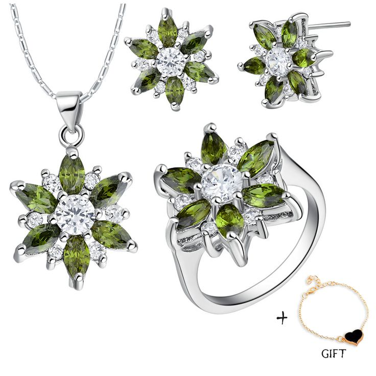 Find More Jewelry Sets Information about Rhinestone Wedding Jewelry Sets Women Bridal 925 Sterling Silver Austrian Crystal Earring Necklace Pendant Ring Party Set T508,High Quality jewelry pendant,China jewelry stainless Suppliers, Cheap jewelry box makin