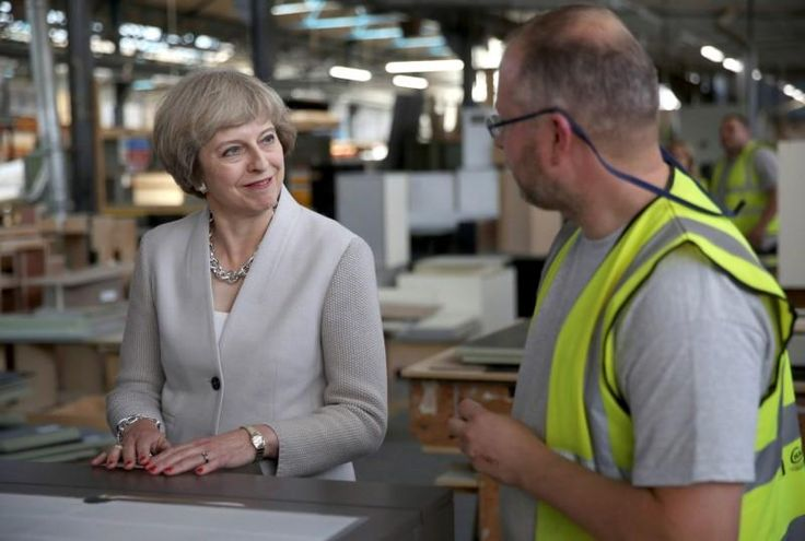 Britain's manufacturers told Prime Minister Theresa May on Monday to drop her threat that she might take the country out of the European Union without a new trade deal, saying they would bear the brunt of trade barriers with the EU.