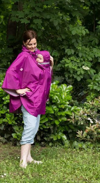 NANA raincoat for babywearing