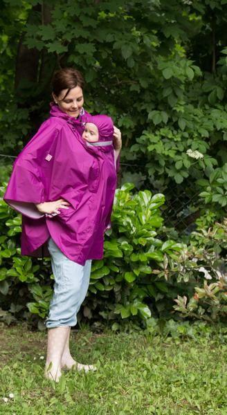 NANA raincoat for babywearing