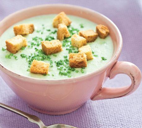 Krémová zelerová polievka