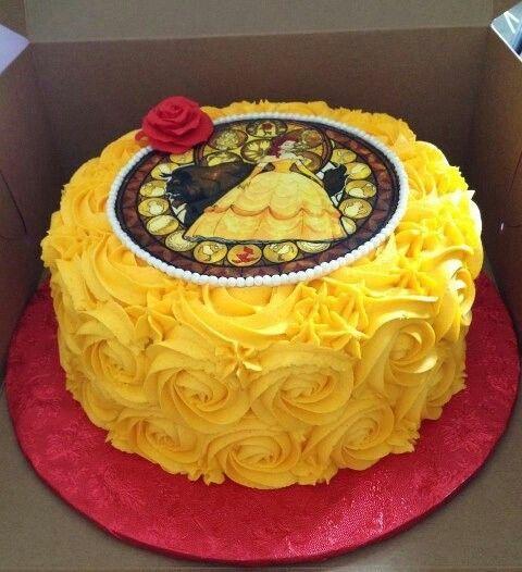 beuty and beast cake | Beauty and beast cake
