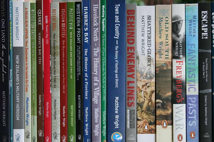 Some of the books I've written and had published.