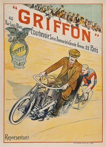 Griffon bicycles ~  Louis Trinquier-Trianon