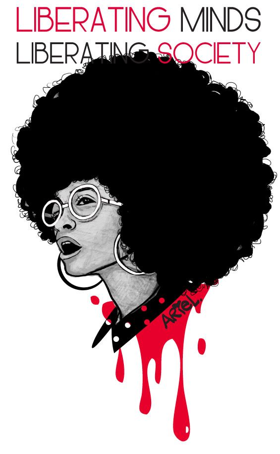 Liberating minds,liberating society. #naturalhair art.