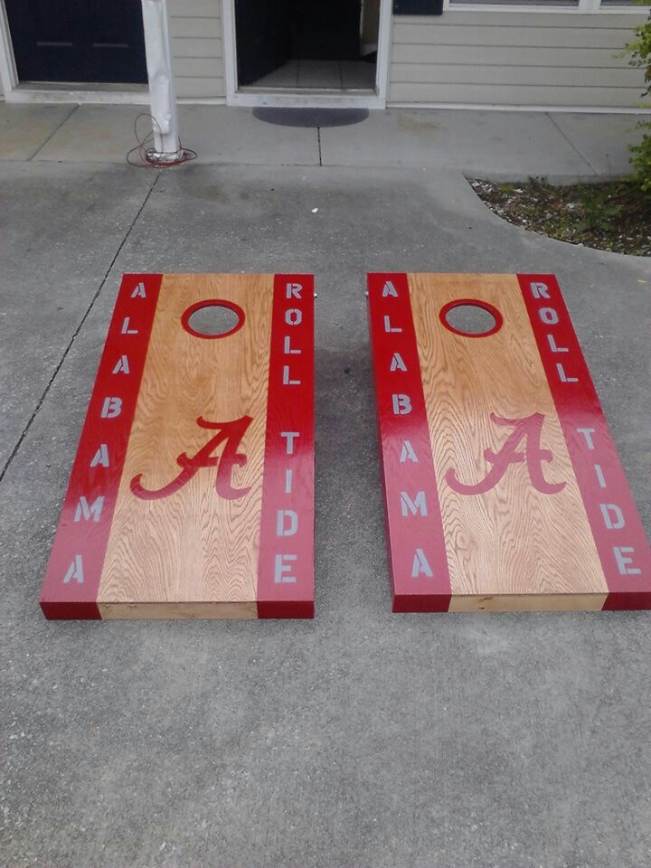 http://m.facebook.com/woodysccb  Cornhole Boards Built and designed by  LaBron Woody