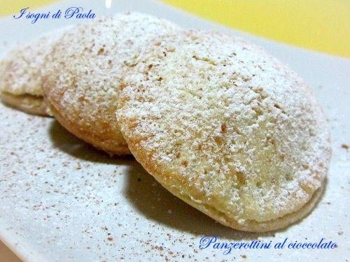 Panzerottini al cioccolato. A Catania il panzerotto non è un dolce, è una colazione!