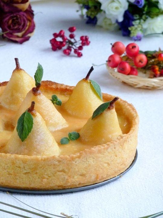 Грушевый пирог от Джулии Чайлд - пошаговый рецепт с фото - как приготовить, ингредиенты, состав, время приготовления - Леди Mail.Ru