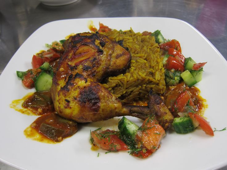 Persian cookery class at Open Kitchen - chicken and rice