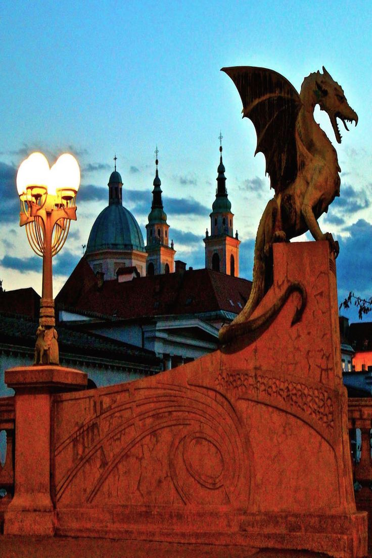 The Dragons of Ljubljana Slovenia