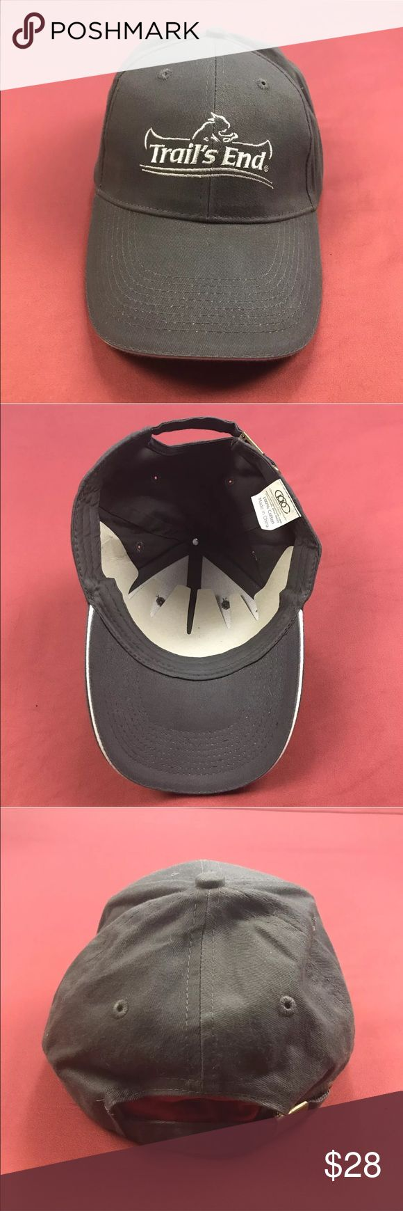 NWOT Trails End Popcorn Baseball Cap Very Good Condition! No Flaws.  One Size. Adjustable Strapback.  Please, review pics. Contact me if you have questions. Smoke/Pet free home.   💋❤️🌷Save, Save, Save! 💋❤️🌷  💵👍🏻💰❤️ 30% off 3+ Bundles ❤️💰👍🏻💵 APC Accessories Hats