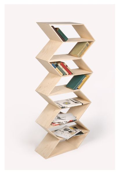 Bookshelf Designed Using Lithuanian Ethnic Textile Ornaments. The User Can,  Depending On His Needs, Easily Change Combinations Of Segments And Function  ...