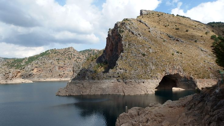 Quentar Lake, Andalusia, Spain