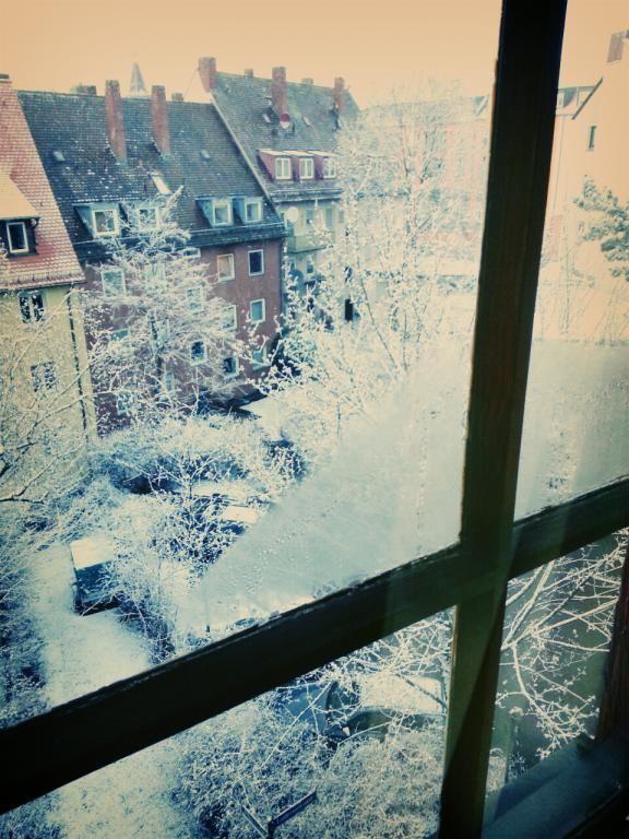 Winter Wonderland in Nürnberg. WG in Nürnberg-Sebald