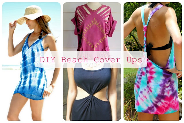 Easy DIY Beach Cover Ups