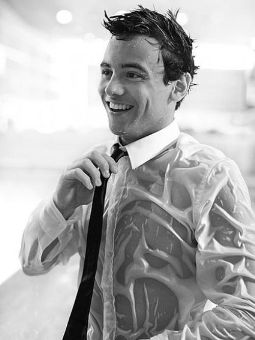 Tom Daley oh my.... yes, I will date you honey bear                                                                                                                                                                                 More