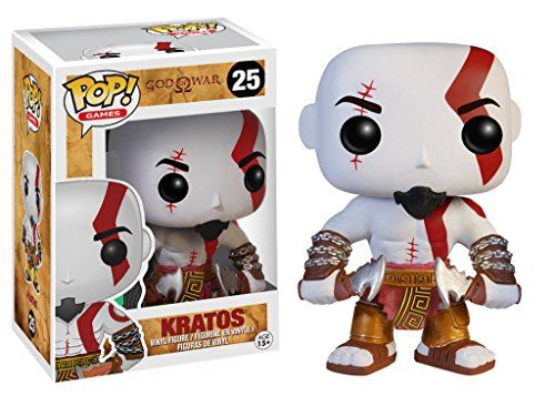 Funko Pop Games  God Of War Kratos Vinyl Action Figure 3431 Collectible Toy 25 * Click on the image for additional details.Note:It is affiliate link to Amazon.