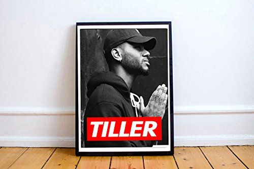 Custom Bryson Tiller Art Posters Trapsoul Print Song Lyric Quote Digital Print Larger Print Living Room Bed Room Art (FRAME NOT INCLUDED) (24x30) #Custom #Bryson #Tiller #Posters #Trapsoul #Print #Song #Lyric #Quote #Digital #Larger #Living #Room #(FRAME #INCLUDED)