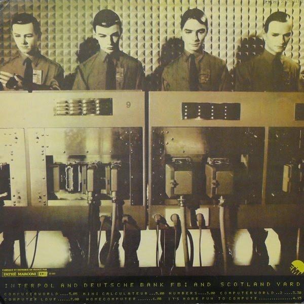 KRAFTWERK, Computer World (back cover)