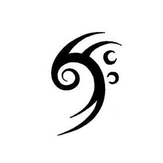 https://s-media-cache-ak0.pinimg.com/736x/f3/50/47/f35047ffa494589b5d7988a70e61b4fa--music-tattoo-designs-music-tattoos.jpg Tribal Music Tattoo Designs