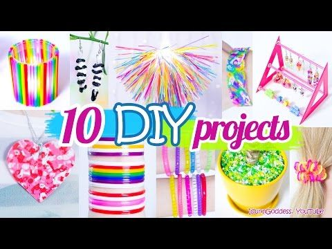 10 DIY Projects With Drinking Straws – 10 New Amazing Drinking Straw Crafts and Life Hacks – Random Videos