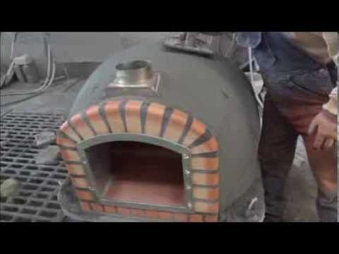 Wood fired brick ovens Insulated with ROCKWOOL- Choose this Wood fired b...