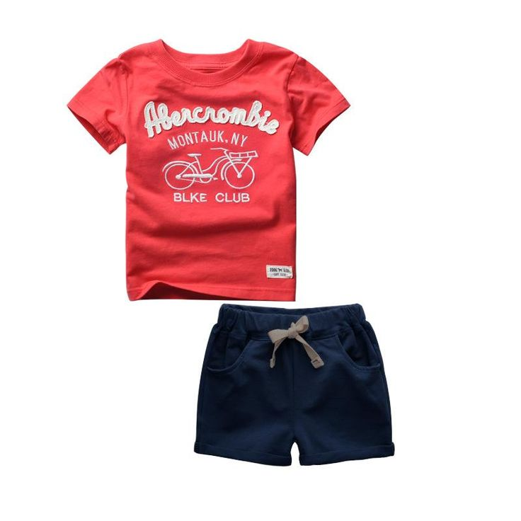 Boys T-Shirt   Shorts Abercrombie Outfit