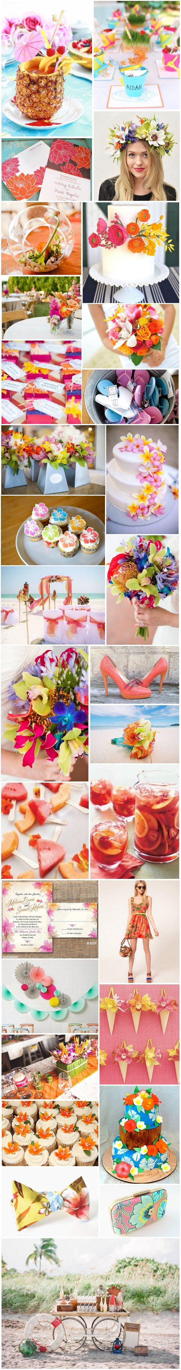 [Inspiration] Mariage tropical