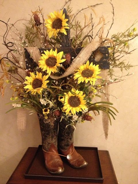 Images of Country Flower Arrangements | What a sweet privilege it was to create this memorial arrangement