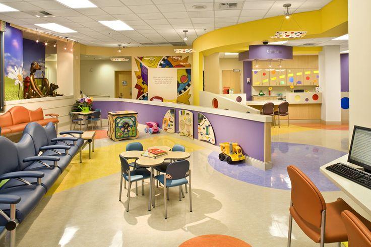 Childrens ER lobby, Renown Children's Hospital, Reno, NV.