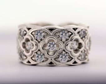 Wedding Band Renaissance Ring Band with by AddingtonKarpathia