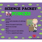 Science Packet: Forces This is an excellent resource to supplement your teaching of: -ForcesThis resource includes: -10 large word wa...
