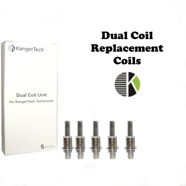 Nuove dual coils di ricambio Kanger, versione migliorata compatibile con tutti gli atomizzatori dual coils prodotti da kangerTech- http://www.svapostore.net/ricambio-kangertech-dual-coil-nuova-versione-2-protank-3-mini-pr?page=2
