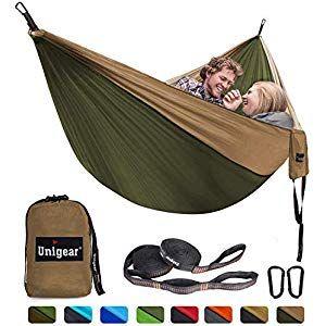 Unigear Camping Hängematte Reise Hängematte Hamm…