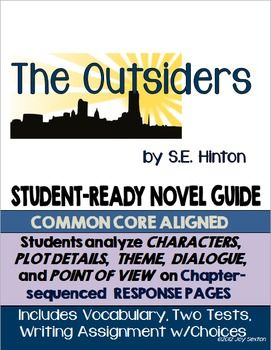 an analysis of the gangs in the outsiders a novel by se hinton The outsiders by se hinton suggestions and expectations this curriculum unit can be used in a variety of ways the book was inspired by two rival gangs at her school, will rogers high school, the greasers and the socs, and her desire to show sympathy toward the.