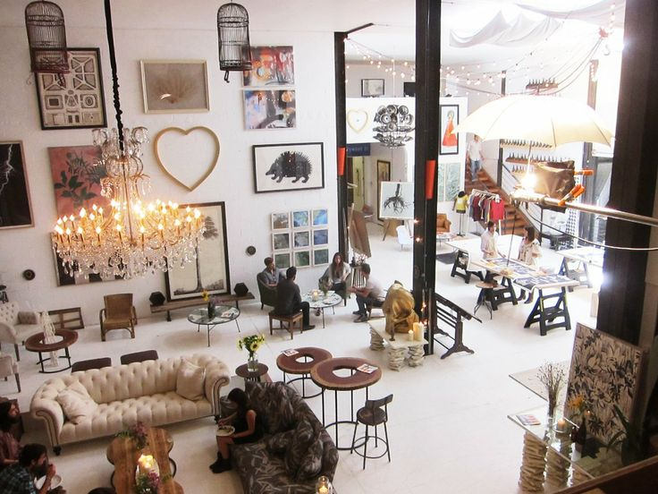 I would love to turn my offices into something  like this, maybe I will ... Natural Curiosities' Endlessly Inventive Offices Workspace Tour | Apartment Therapy