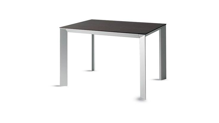 Tai table #Scavolini. Top made of Naturalia by Arpa, Ossidiana colour. Sustainable design oriented.