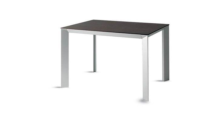 Tai table #Scavolini. Top made of Naturalia by Arpa, Ossidiana colour. Sustainable design oriented.