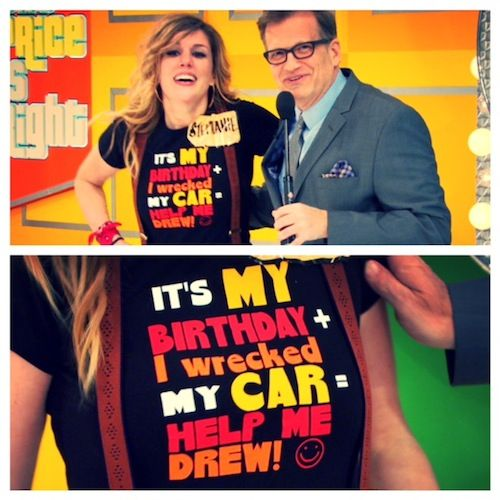 Wreck your car, make a shirt, get on The Price Is Right! Hopefully the problem will be solved!