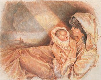 "Joni Eareckson Tada shares the story of her painting, ""The Nativity."""