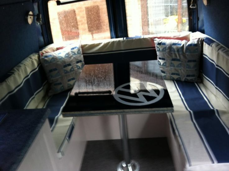 Another u shaped jobby ideas for my t4 pinterest for Vw t4 interior designs