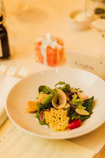 Roasted Pemberton Beet Salad | roasted pear, chèvre, walnut vinaigrette, tarragon |