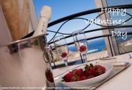 SO romantic ;) The view from the master bedroom at Villa Tsambika View, Rhodes, Greece