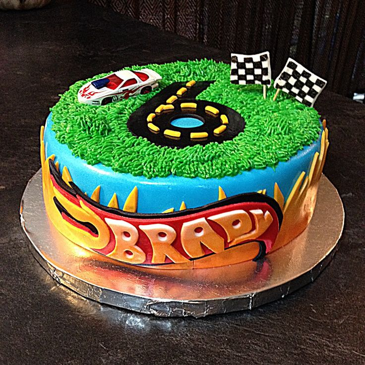 Images Of Hot Wheels Cakes