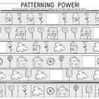 Math Patterning Power! You are receiving 2 different patterning power worksheets! Great for reinforcing math patterning skills. $