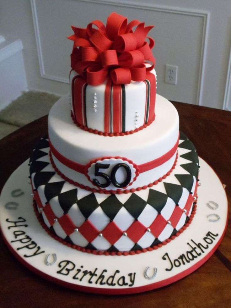 Cake Decorations For Men S Birthdays : 50th Birthday Cakes For Men Big 50 Pinterest ...