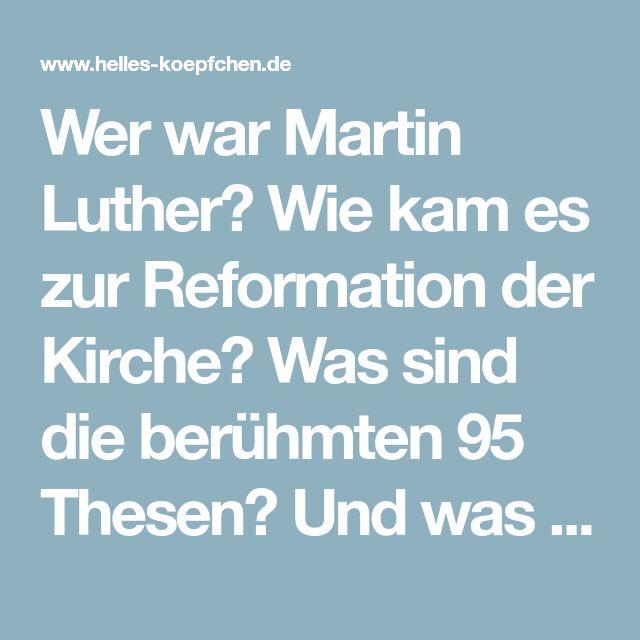 Wie Kam Es Zur Reformation