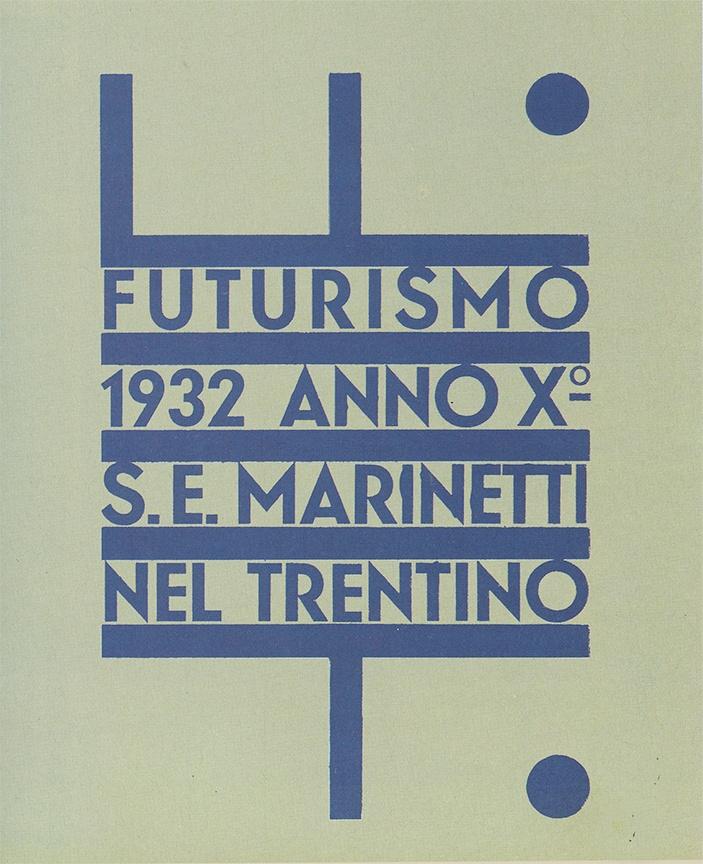 fortunato depero : futurismo : 1932
