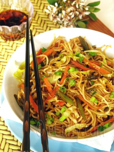 indian chinese hakka noodles