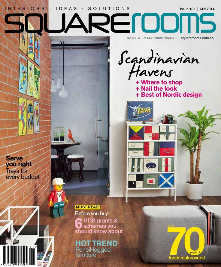 SquareRooms Issue 105 January 2014 We Start On A Scandinavian Note With Our